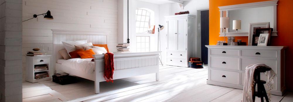 Schlafzimmer: Betten und Möbel in Shabby, Landhaus oder Modern ...
