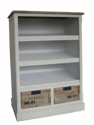 regal vintage 01 mit 2 schubladen deko salon online shop. Black Bedroom Furniture Sets. Home Design Ideas