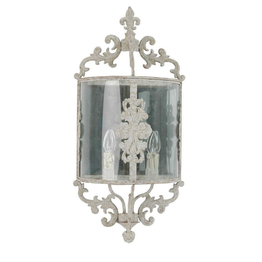 Startseite u00bb Lampen u00bb Landhauslampen u00bb Imposante Wandlampe Shabby ...