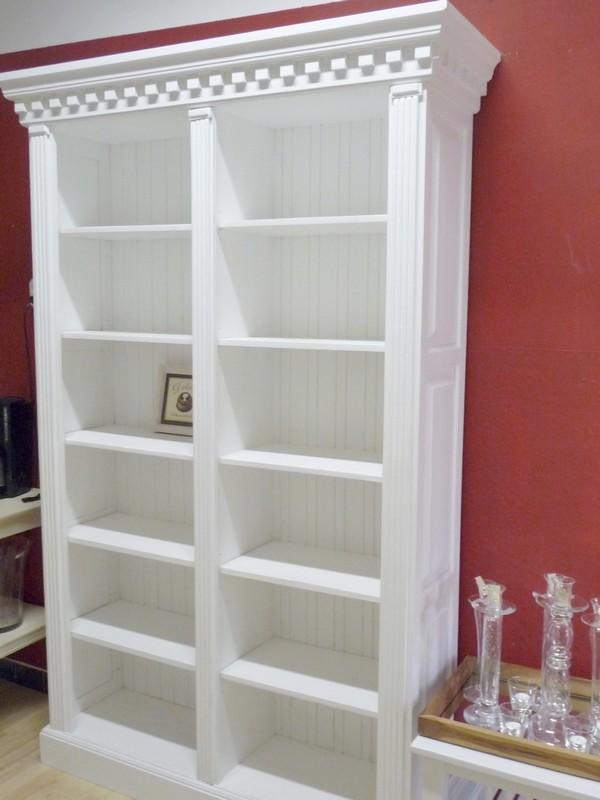 Bücherregal weiß landhaus  Bücherschrank Pinie | Deko-Salon Online Shop