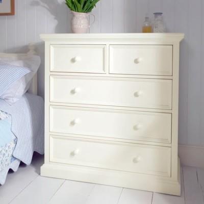 Landhausmöbel kommoden  Weiße Kommode Anrichte Pinie Art 581 | Deko-Salon Online Shop