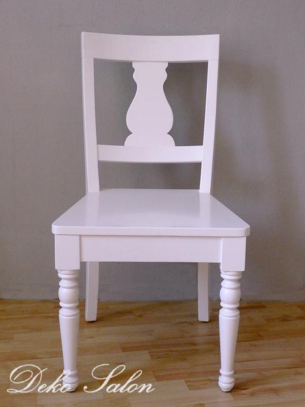 Stühle Weiß Landhaus ~  » Landhausmöbel » Stuhl » Landhaus Stuhl Linde weiss Art 753