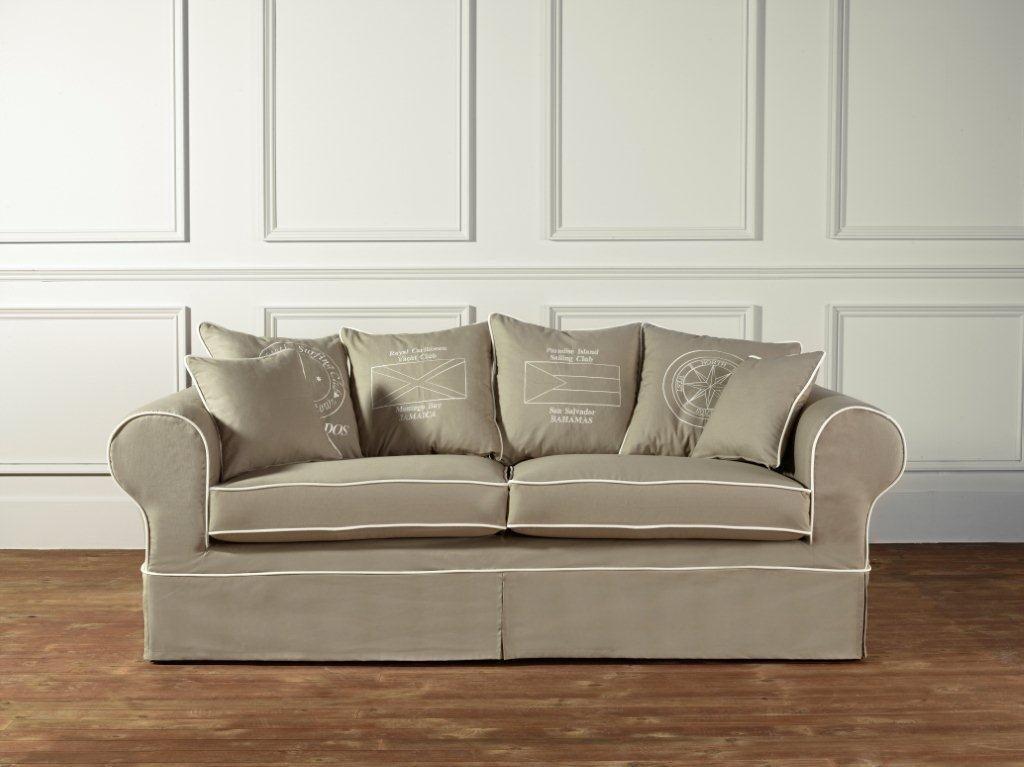 coastal homes country hussen sofa dorchester sage   deko-salon, Hause deko