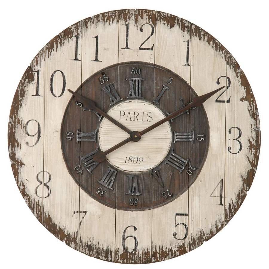 XXL Wanduhr Uhr aus Holz 80 CM Uhr SONDERPREIS!  eBay -> Wanduhr Selber Gestalten Holz