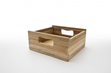 Bordeaux Teak Crate Small für CA583, CA585, CA598 (3er Set)