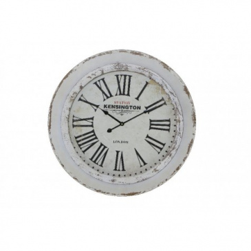 Uhr KENSINGTON antik weiss Light & Living Ø 60 cm