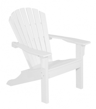 Gartensessel Adirondack Chair Seaside White